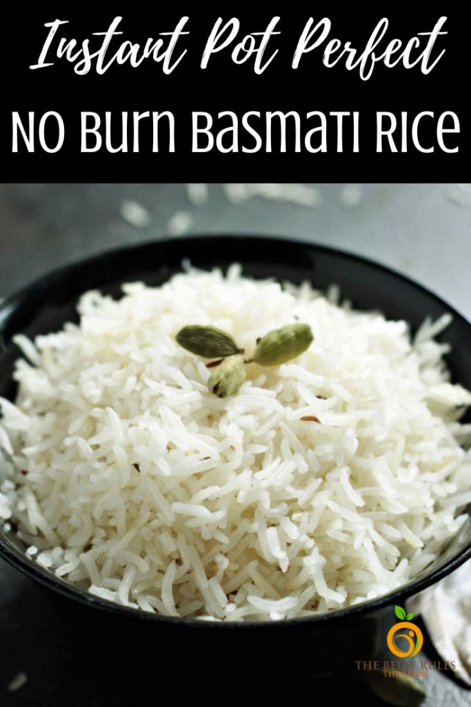 basmati rice cooked in instant pot recipe