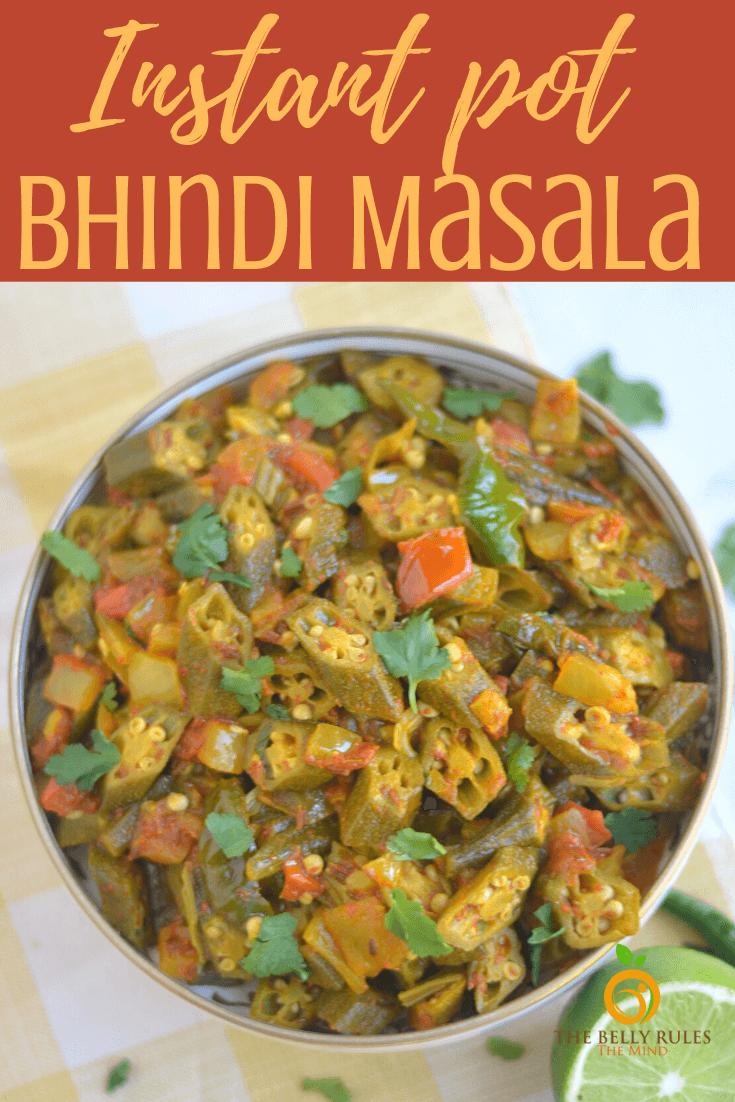 Bhindi masala - Okra stir fry