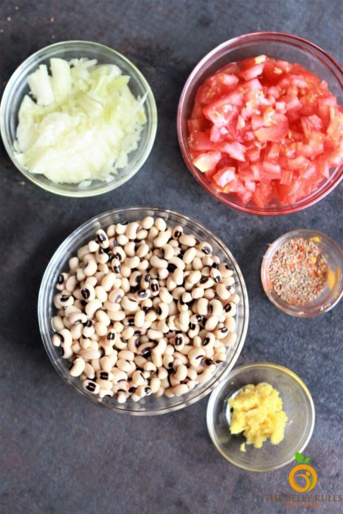black eyed peas ingredients