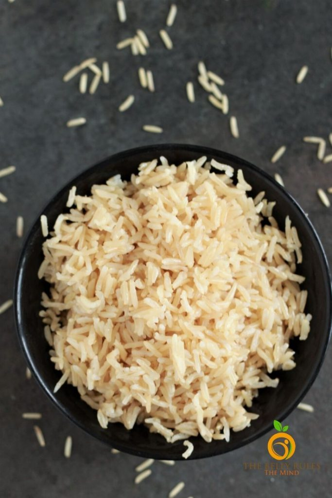 brown rice cooked in instant pot