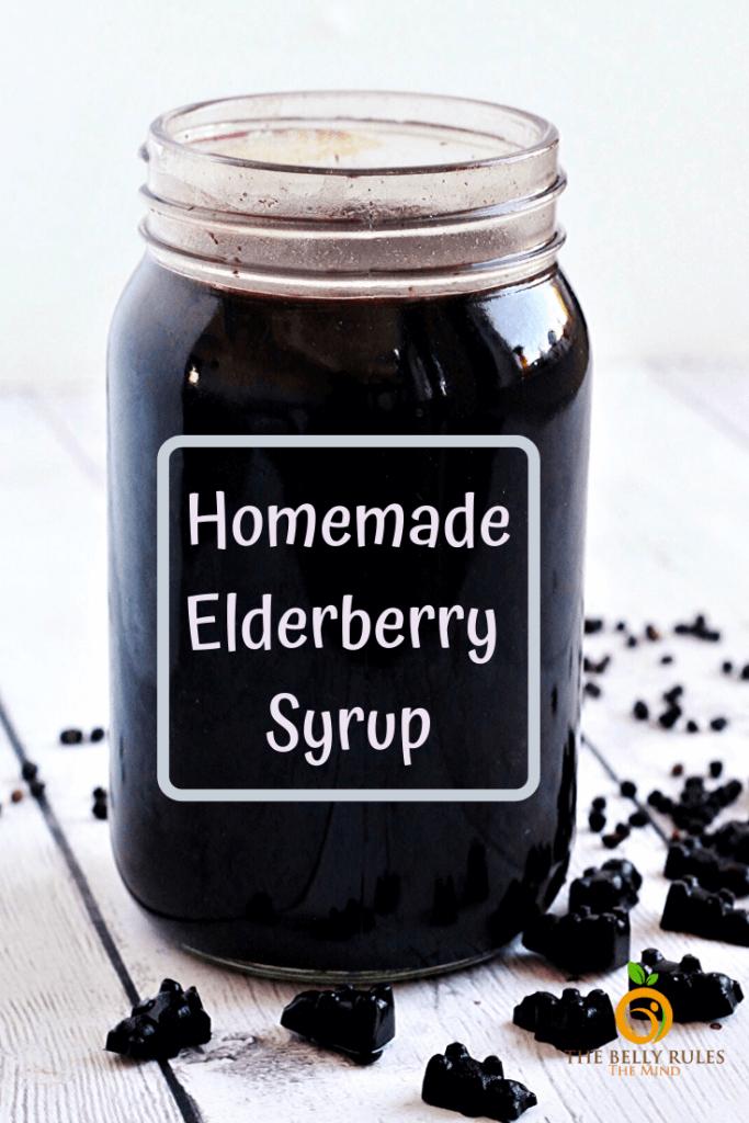 Elderberry Syrup Recipe
