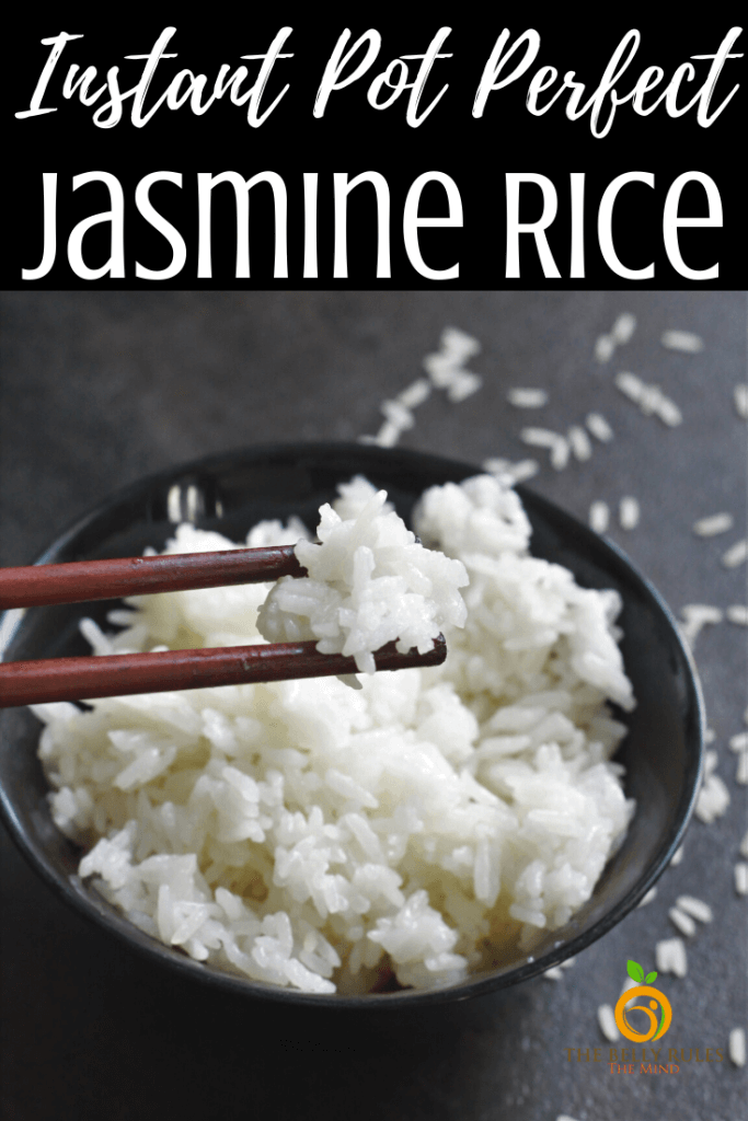 instant pot jasmine rice recipe