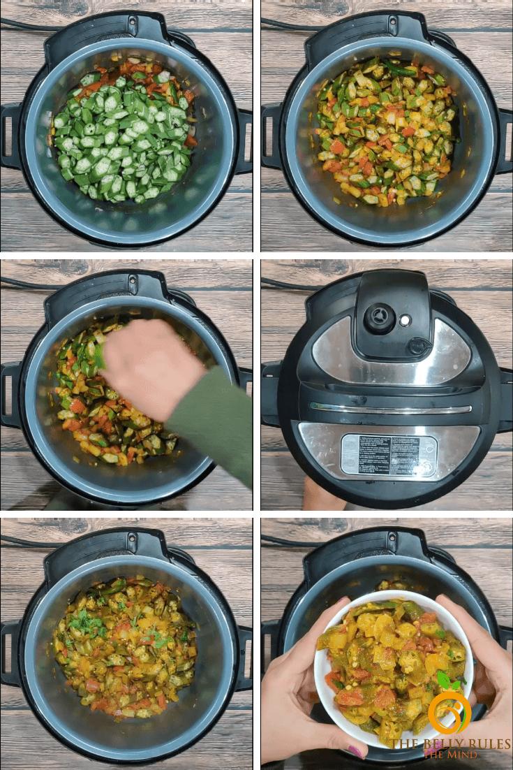 step by step bhindi masala