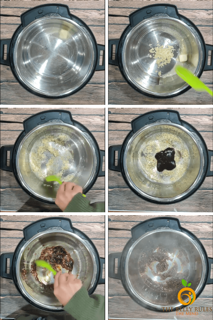 instant pot step by step recipe images