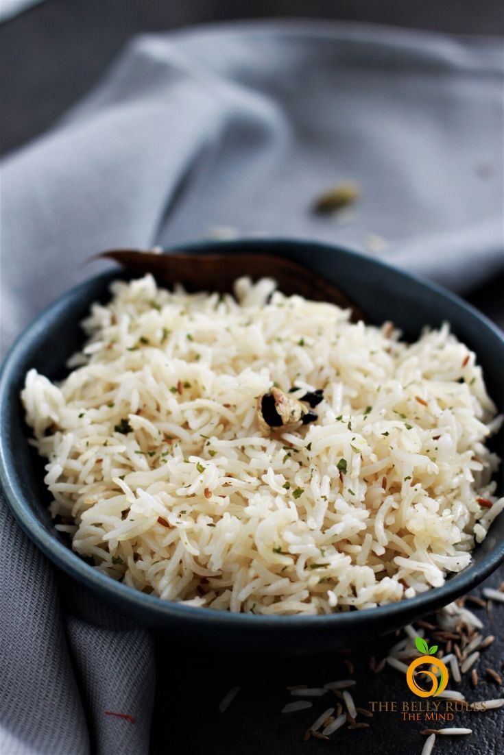 jeera rice or cumin rice recipe