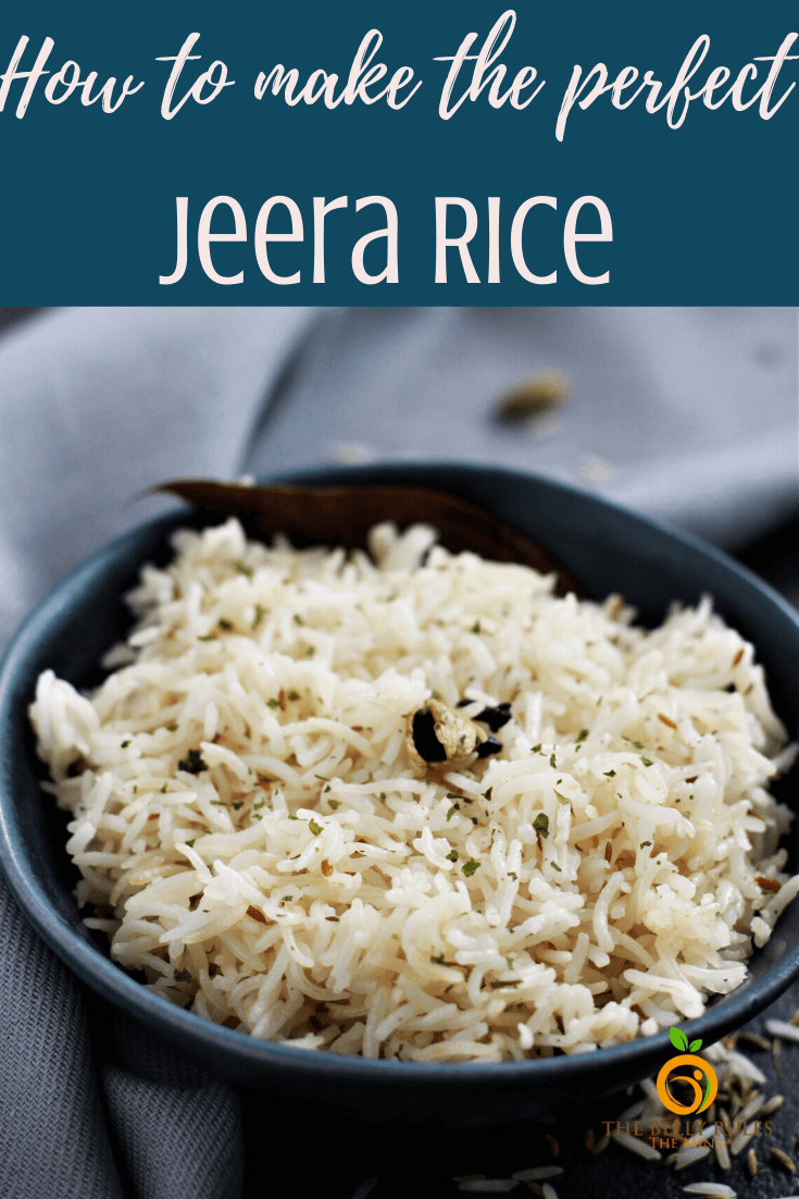 Learn how to make the perfect Jeera Rice or Cumin Rice. A quick and simple rice preparation,mildly flavored with spices, packed with aroma and each grain is separate. Serve it with any Indian curry or meal and you won't be disappointed at all.Vegan. Gluten-Free. Instant pot and stove top options included. Step by Step video instructions.