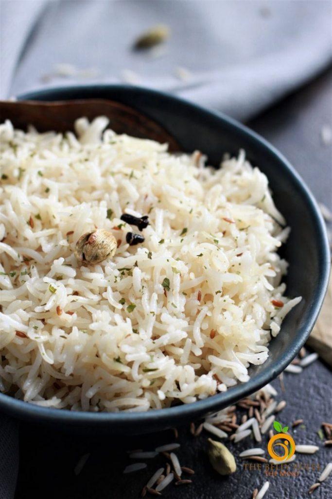 how to cook jeera rice or cumin rice