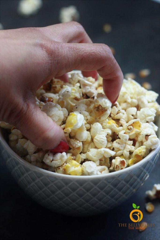 homemade instant pot popcorn