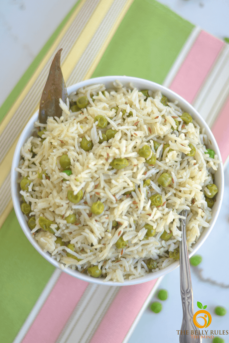Best Peas Pulao Recipe