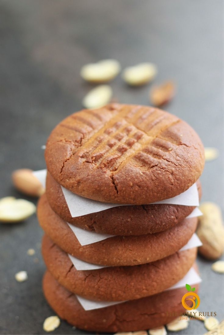 vegan peaut butter oatmeal cookies recipe