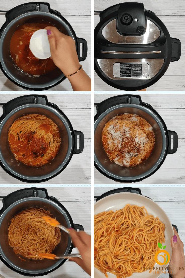 Instant Pot Spaghetti Noodles