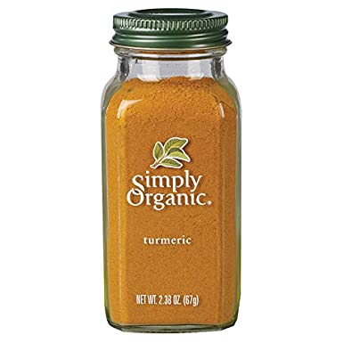 Simply Organic Ground Turmeric Root | Certified Organic | 2.38 oz. (3 Pack)