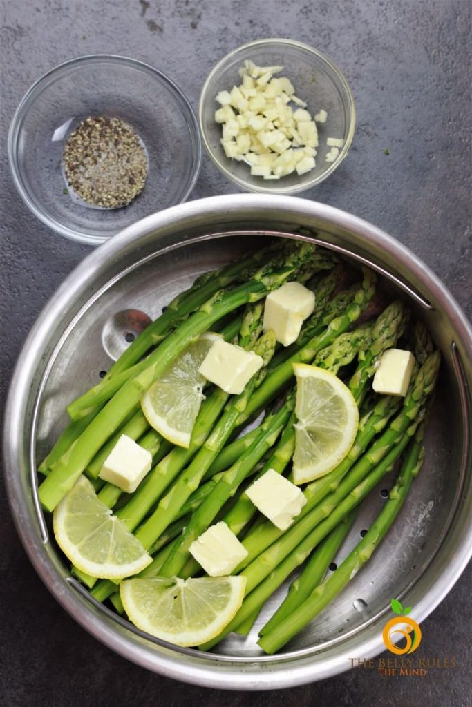 ingredients for pressure cooker asparagus