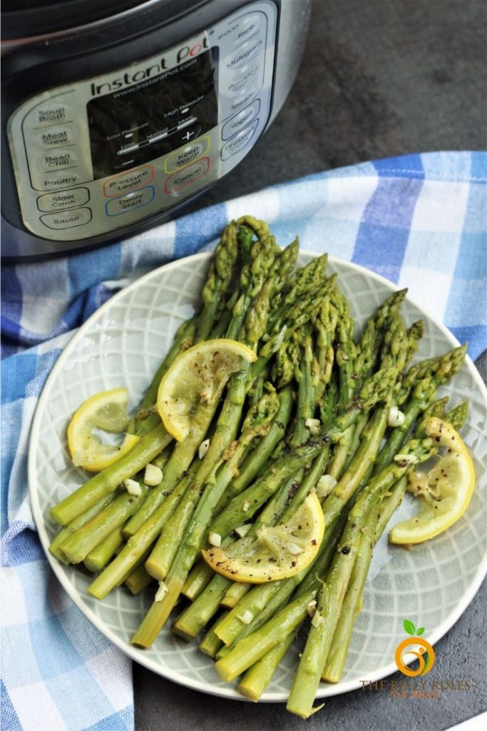asparagus cooked o instant pot