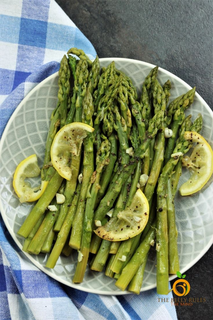 asparagus cooked in instant pot