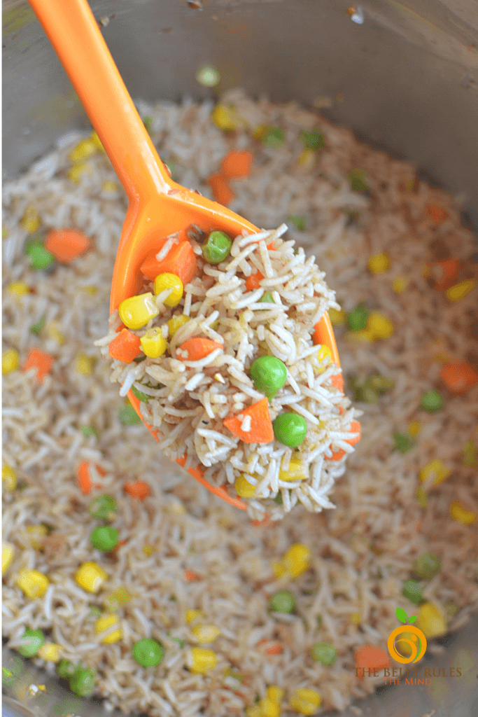 instant pot fried rice