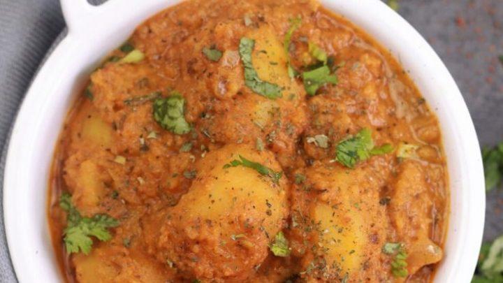 instant pot punjabi dum aloo recipe