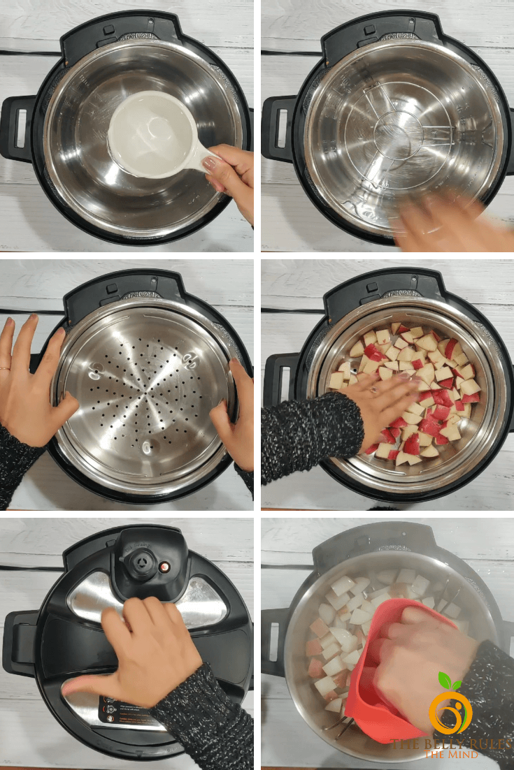 Instant pot jeera aloo step by step