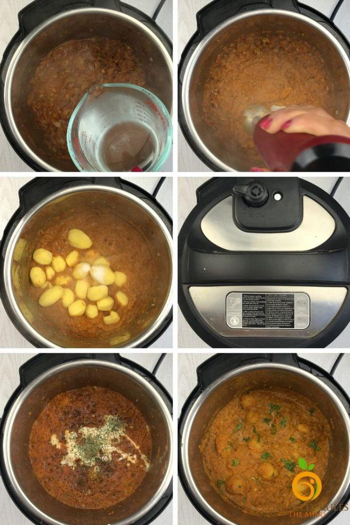 step by step dum aloo recipe