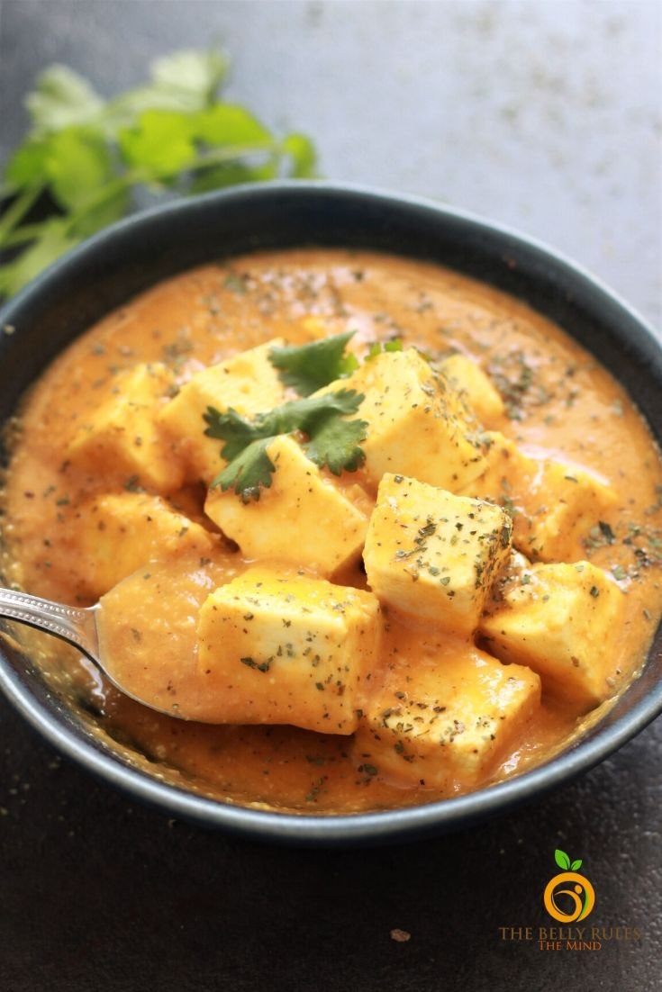 instant pot shahi paneer recipe