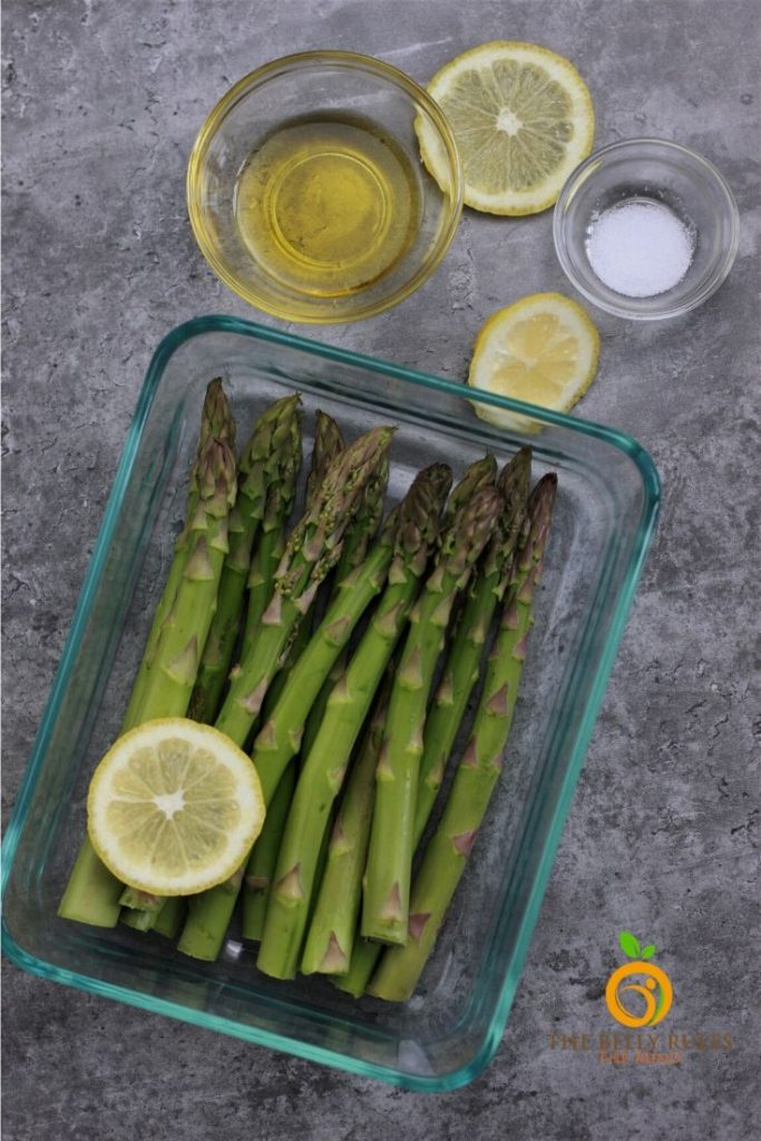 Air Fryer Asparagus ingredients