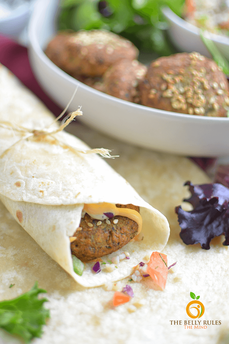 Quick Falafel Wrap Recipe