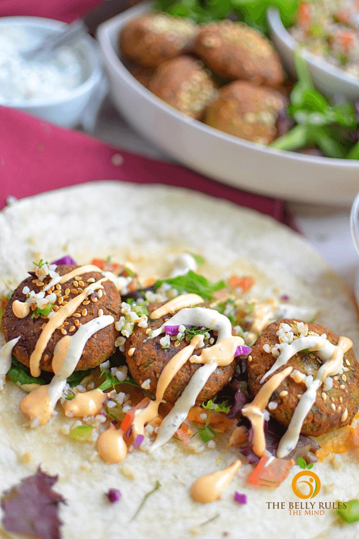 Quick Falafel Wrap Recipe
