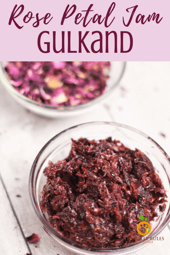 gulkan rose petal jam recipe