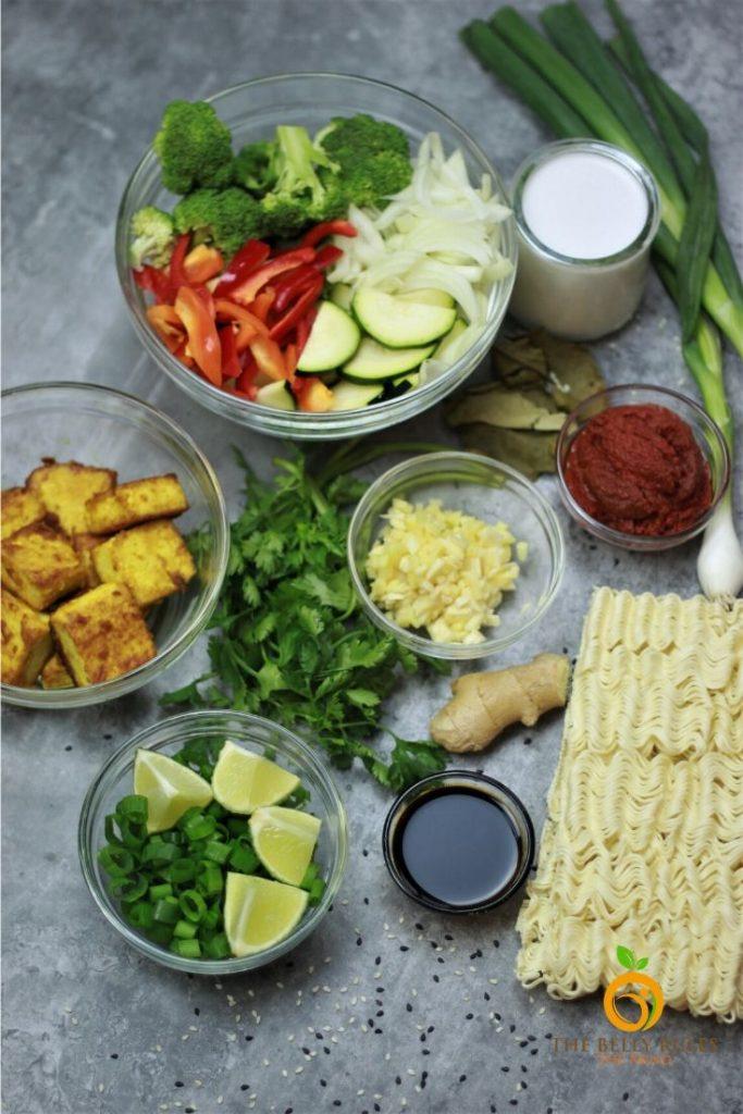 instant pot ramen noodles ingredients
