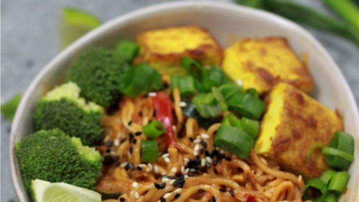 vegan ramen noodle instant pot