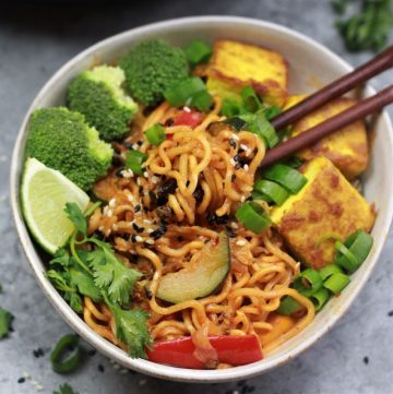 thai vegan ramen noodles instant pot