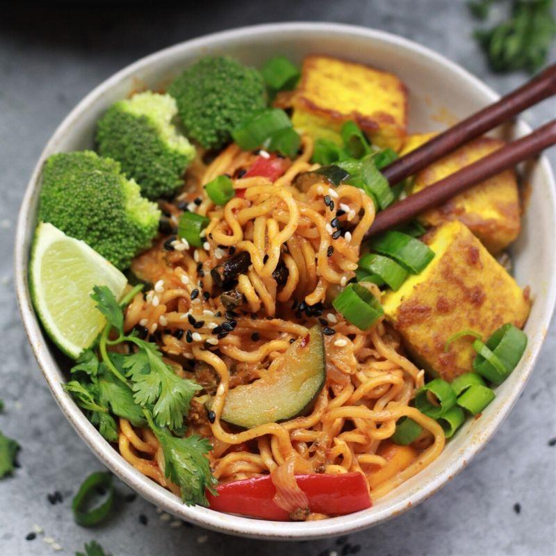 thai vegan ramen noodles instant pot