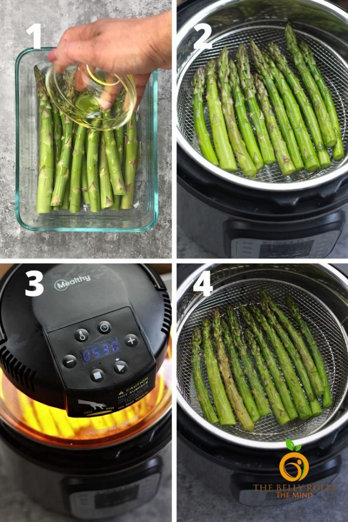 Air Fyer Asparagus