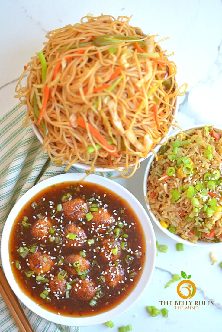 No Fry Veg Manchurian Recipe