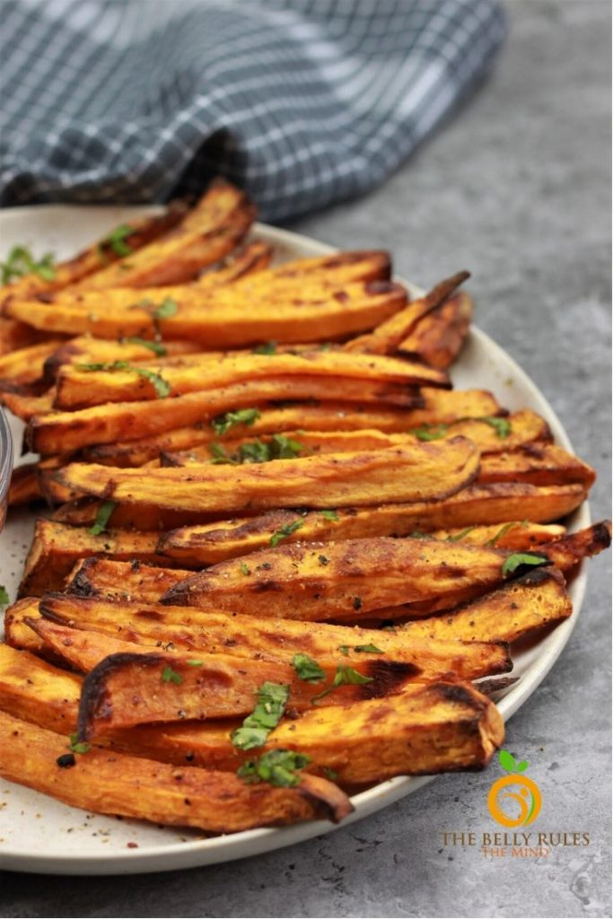 Air Fryer Sweet Potato Fries Recipe