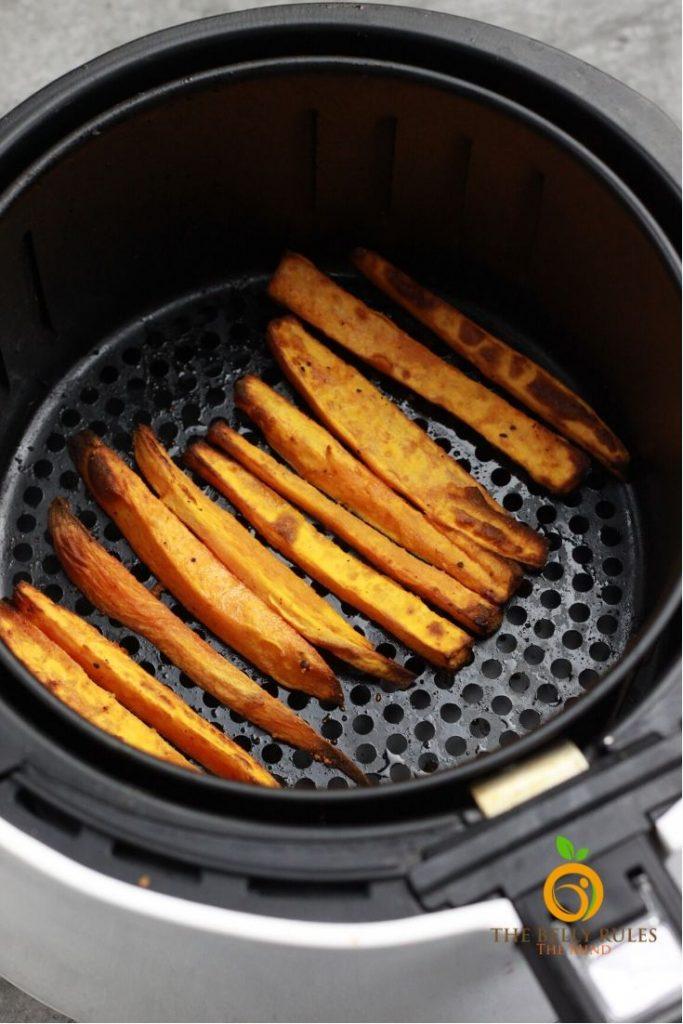 sweet potato fries air fryer recipe