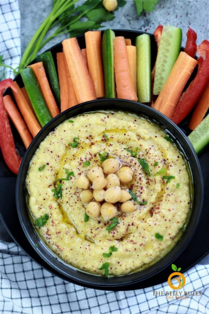 Instant Pot Homemade Hummus Recipe