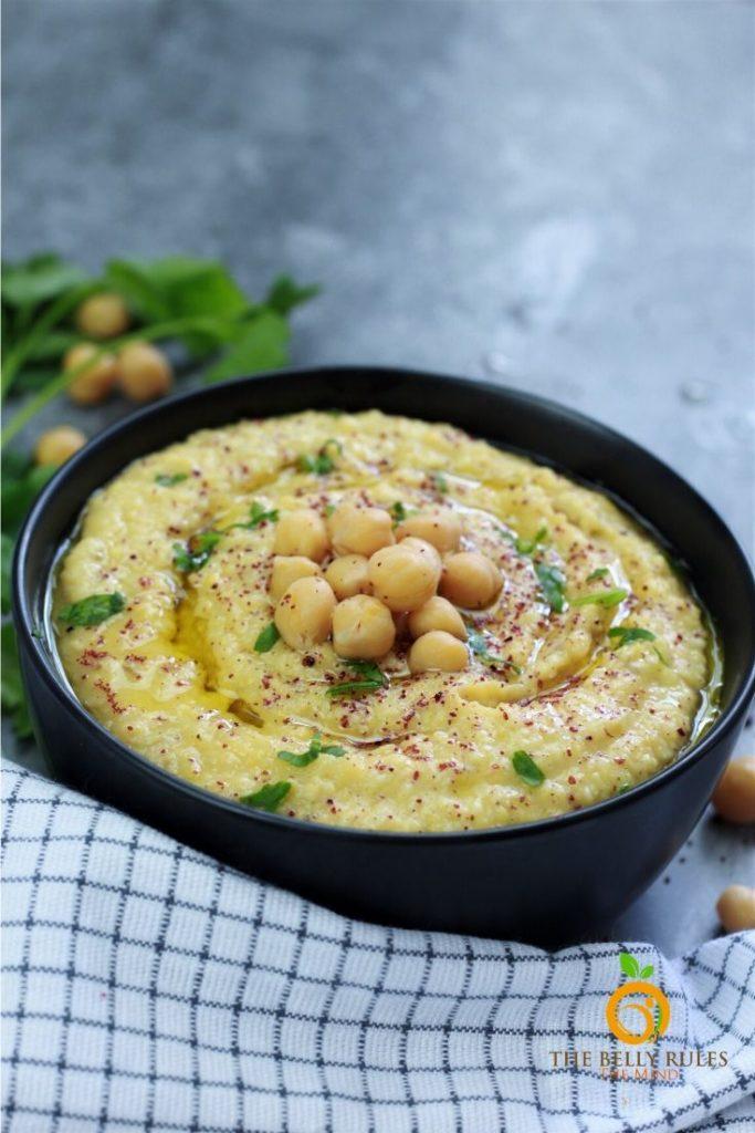 Instant Pot Hummus Recipe