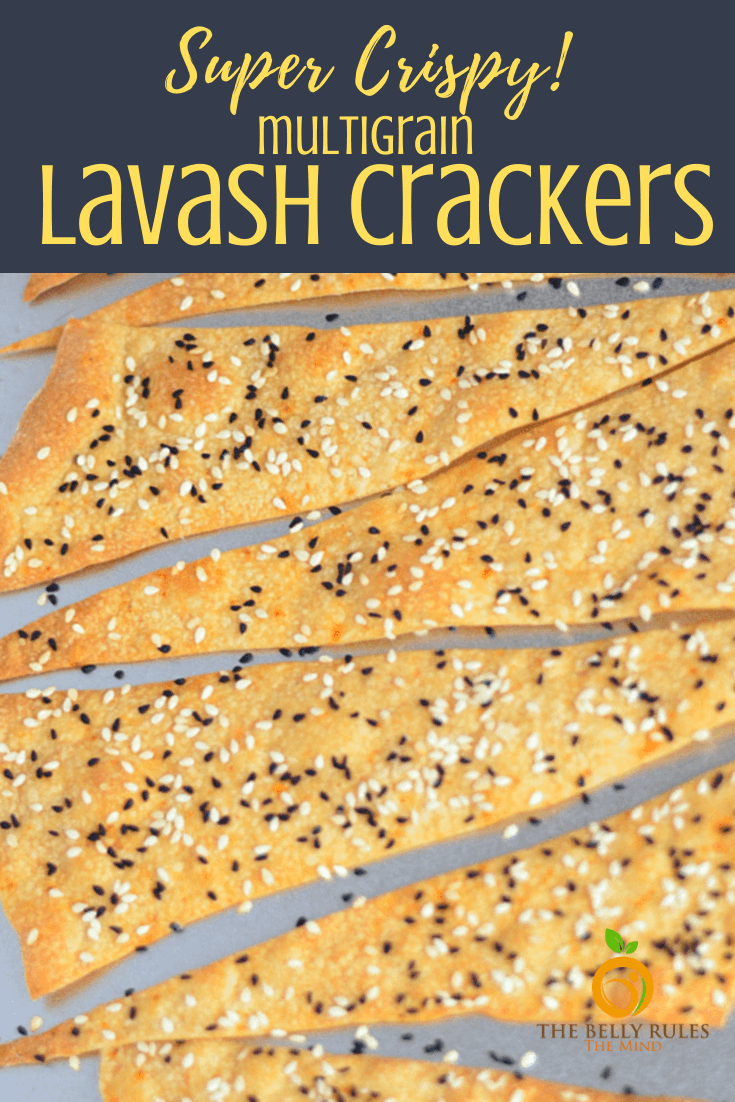 lavash chips / crackers