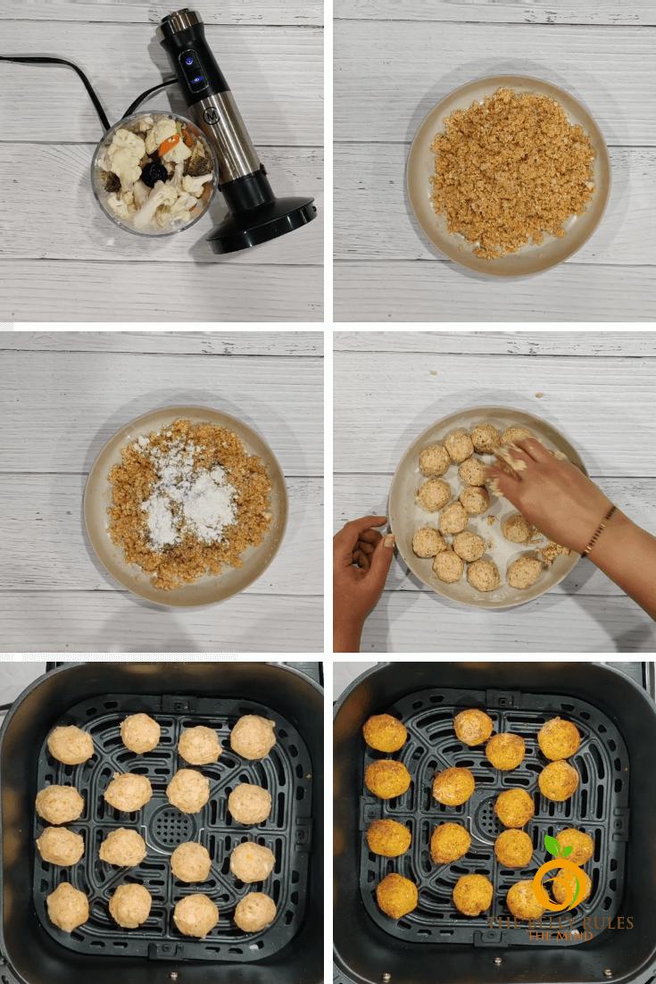 No Fry Veg Manchurian step by step Recipe