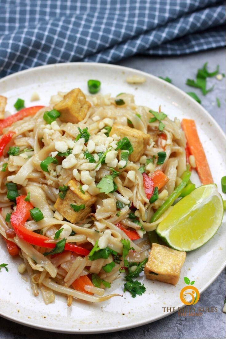instant pot vegan pad thai recipe