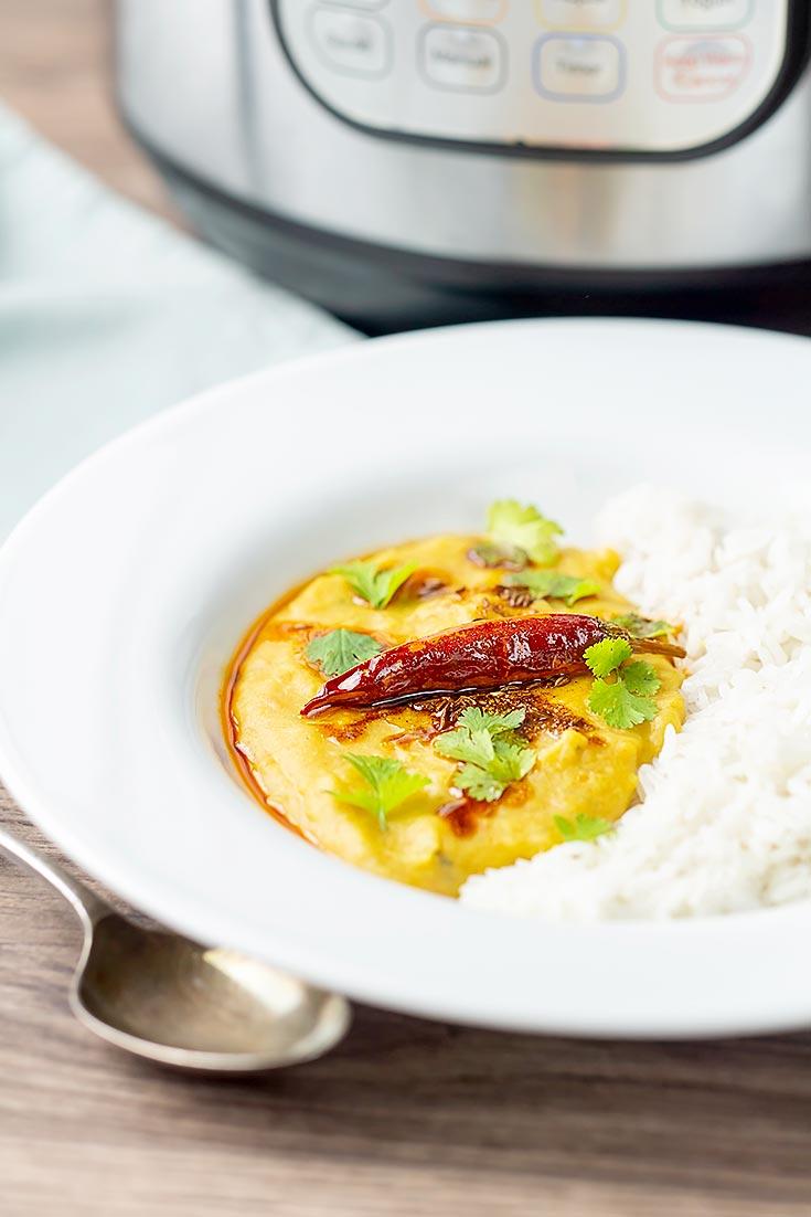 dal tadka with rice