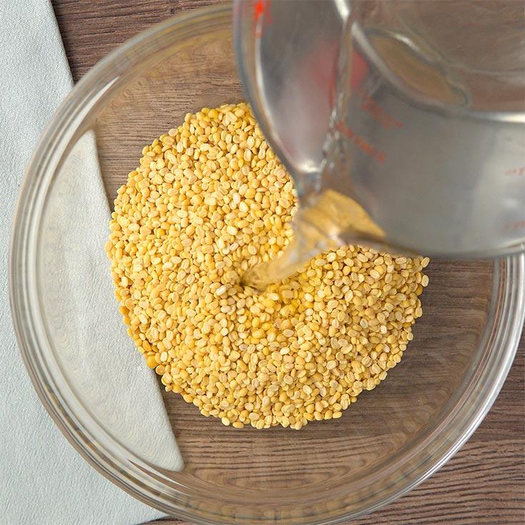 soaking lentils for dal tadka recipe