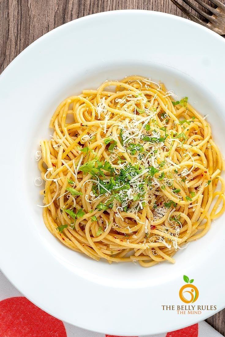 Spaghetti Aglio-e - olio