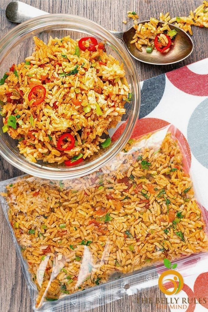 How to store Mexican rice