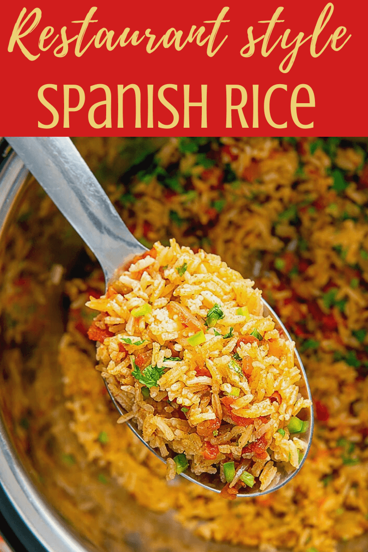 Easy Instant Pot Spanish Rice Video Recipe Bellyrulesthemind