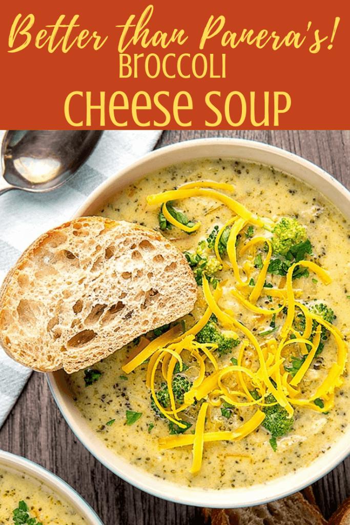 instant pot broccoli cheese soup recipe