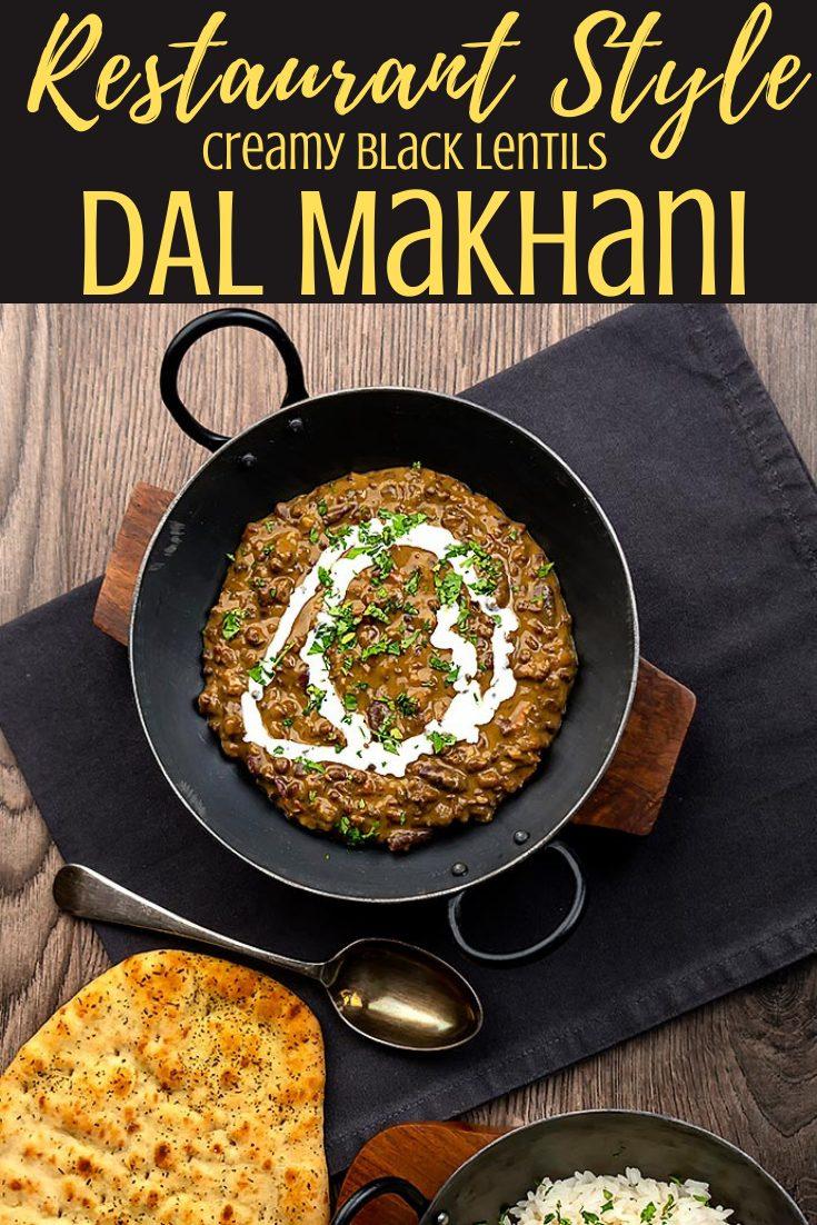 Dal makhani - madras lentils - dal bukhara