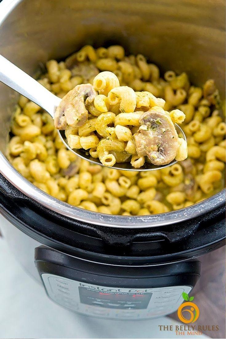 pesto pasta in instant pot