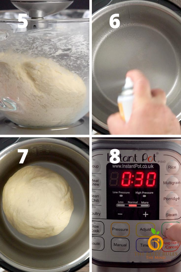 no yeast pizza dough step by step instructions